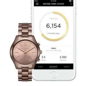 Accessories - NIB!! Michael Kors Hybrid Access Sable Smartwatch